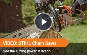 Watch Video - STIHL Chain saws